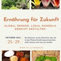 Seminar: Ernährung für Zukunft