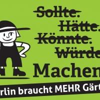 """Demo """"Berlin will mehr gärtnern!"""""""